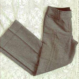 Ann Taylor Gray & Black Dress Pants